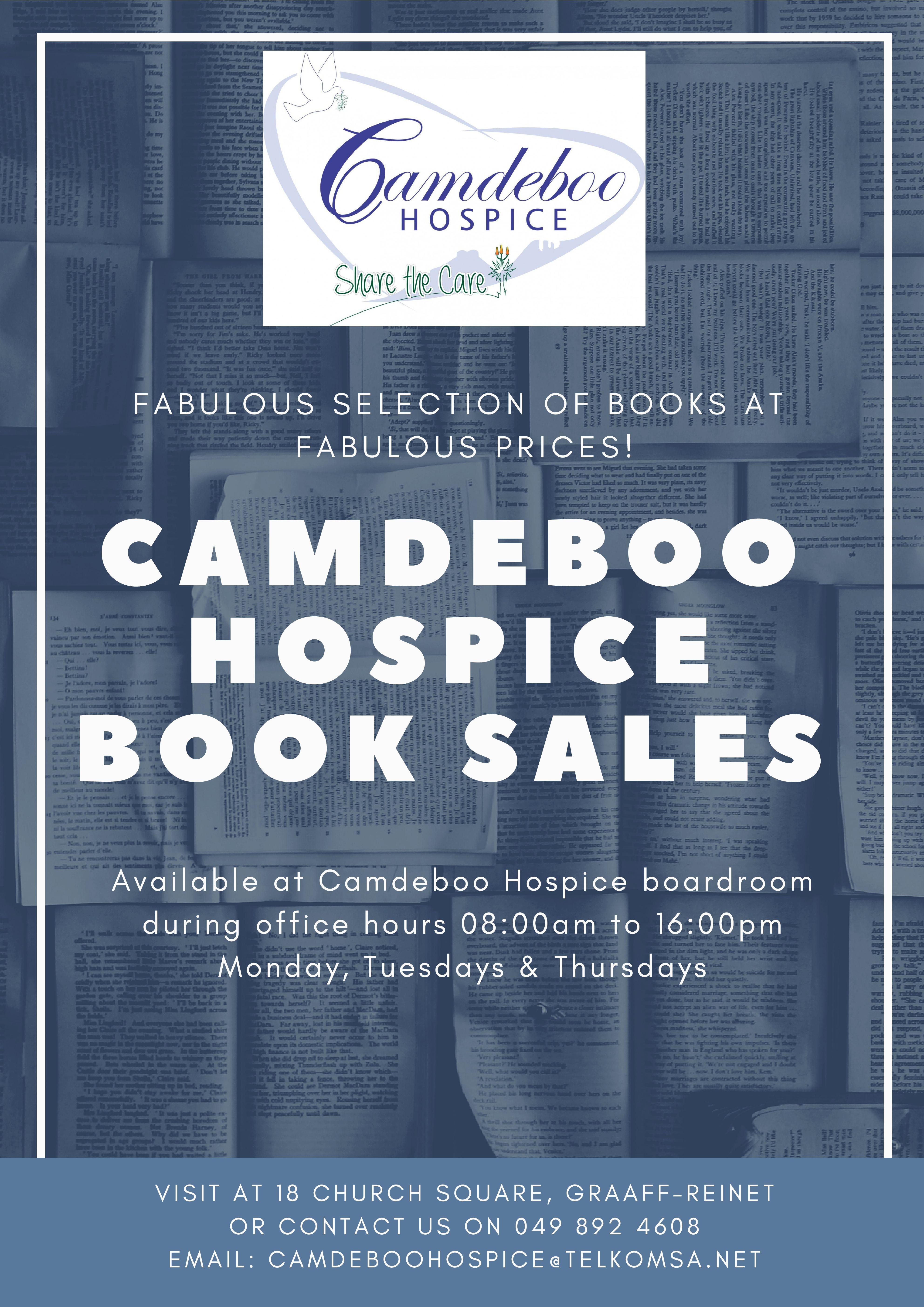 Camdeboo hospice book sales